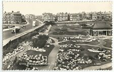 (W715) Gynn Gardens, Blackpool. Vintage Valentines RP Postcard