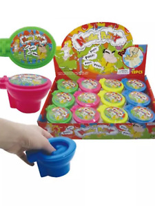 Large toilet shaped noise putty slime party bag stocking filler novelty gift