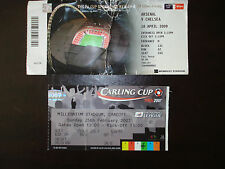 Chelsea v Arsenal Ticket Stub FA Cup Semi Final 2009