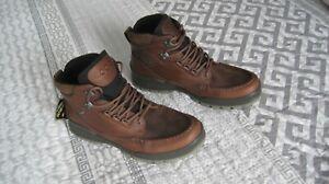 ECCO Track 25 GoreTex NIB Brown  Ankle Boots.Size US 12- 12.5 (EU 46)