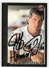 JEFF HAMMOND NASCAR LEGEND Autographed SIGNED CARD  1992 BLACK  MAXX