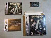 Eragon GBA Nintendo Game Boy Advance Game Works w GBA DS Lite SP Complete in Box