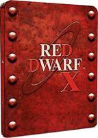 Rojo Enano X Serie 10 Blu Ray Caja Metálica Ltd. Edición Nuevo y Sellado 2000