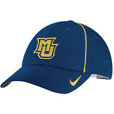 premium selection 03a75 acf94 MARQUETTE GOLDEN EAGLES NAVY NCAA NIKE DRI-FIT COACHES ADJUSTABLE CAP HAT  NWT!