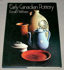 1971 Early Canadian Pottery Hardcover Book