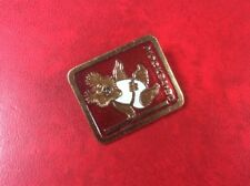 PIN BADGE BROOCH MISHKA Moscow Olympic Games 1980  . Russia USSR VINTAGE RARITY