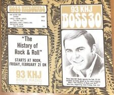 KHJ 93 Boss 30 Radio Survey - No. 188 - February 5, 1969