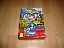 Nintendo Wii PAL version Sonic &amp Sega All-Stars volante
