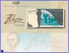 POLAND BOOKLET 20 ZL.2009 *200. rocznica urodzin Fryderyk Chopin*  UNC