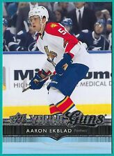 2014-15 Upper Deck Series 1 Young Guns Rookie card# 225 of Aaron Ekblad