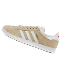 ADIDAS WOMENS Shoes Gazelle - Savannah, White & Red - EF6507