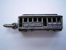 Seltener alter Bettelarmband Anhänger Charm Cable Car San Francisco