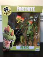 McFarlane Toys Fortnite Premium Rex Action Figure In Hand & Ready to Ship Now