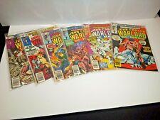Marvel Comics 1977 John Carter Warlord Of Mars  6- Book Lot Used