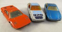 Vintage Matchbox  1970's & 80' Bundle - Porsche and Ferrari