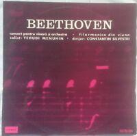 Beethoven - Violin Concerto, MENUHIN, SILVESTRI, VPO, Electrecord, STEREO