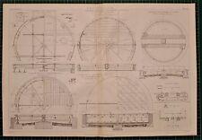 Locomotora de impresión Tocadiscos Hierro 1855 Auto Fundación Hattersley hidrostática