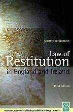 Law of Restitution in England and Ireland by Tettenborn, Andrew