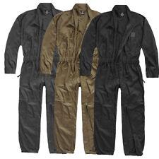 Brandit uso combinado overall trabajo combi azul hombre rally combi traje protector work