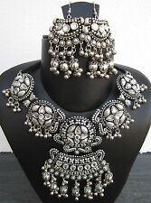 Handcrafted Statement Necklace Choker Earring Bohemian Gypsy Hot Fashion Jewelry