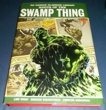 Dc comics classics library roots of swamp thing hardcover hc wein wrightson