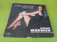 """DIONNE WARWICK - This empty place - VINYL 45T - 7"""" !!!"""