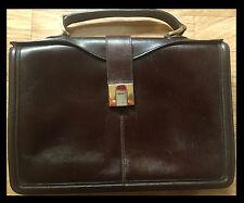 GOLDPFEIL Businesstasche FIRST CLASS Handtasche LEDER Top Din A5 LUXUS Tasche 1A