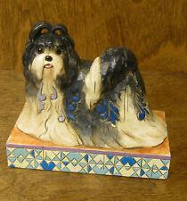 "Jim Shore Heartwood Creek #4016897 ""MING"" SHIH TZU, Enesco From Retail Store DOG"