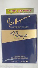273 INDIGO BY FRED HAYMAN FOR MEN 1.6 OZ/1.7 OZ/50 ML EAU DE TOILETTE EDT SPRAY