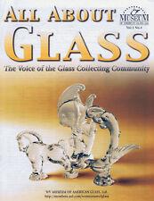 All About Glass 1-4: Blenko*Morgantown*Seneca*3 Face
