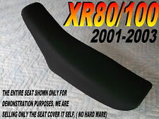 XR80 XR100 seat cover Honda XR80R XR100R 2001-03 black in color 052A