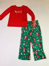 Jammies for Your Families Toddler Boys 'Believe' Christmas Pajamas Size 3T