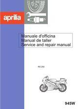 Aprilia RS250 Service Repair Workshop Manual RGV 250 nice quality 500 pages nos