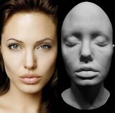 "Angelina Jolie Life Mask ""Lara Croft Tomb Raider"" "" Maleficent""Actress Very Rare"