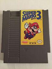 Super Mario Bros. 3 NES (Nintendo Entertainment System, 1990) ***TESTED***