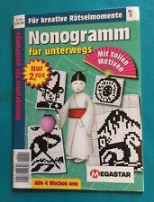 Megastar Nonogramm für unterwegs Nr.9 NEU + unbenutzt 1A abs. TOP