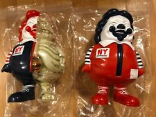 2017 NYCC Ron English SIGNED MC Supersized Set of 2 Grin Toy Tokyo Limited 36
