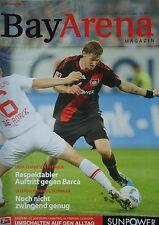 Programm 2011/12 Bayer 04 Leverkusen - FC Augsburg
