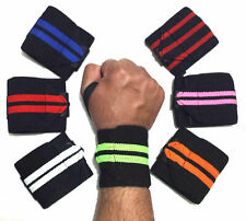 Power Weight Lifting Wrist Wraps Support Gym Training Fist Straps 13''All Colors