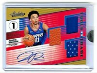 2018/19 Jerome Robinson Panini Basketball Collection Auto Absolute Rookie 04/149
