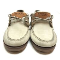 Sperry Top-Sider Two Eye Boat Shoes Two Tone Size 11M