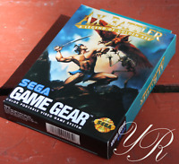 Ax Battler: A Legend of Golden Axe Sega Game Gear Complete in Box NA Version