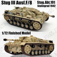 WWII StuG III Ausf F/8 abt.191 Stalingrad 1942 1/72 finished tank Easy model