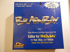Raro Pelican brainboy Game Boy Color & Bolsillo Editor de Pokemon Rojo/Azul/Amarillo