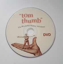 TOM THUMB (1958 Russ) Tamblyn Terry Thomas DVD FREE 1ST CLASS P&P..