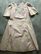 """New listing Vtg 60s Lilly Pulitzer """"The Lilly"""" Pink & White Floral Ruffle Shift Dress! 16 Xl"""