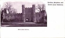 London, Brighton & South Coast Railway Official. Battle Abbey Gateway.