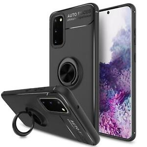 For Samsung Galaxy A52 5G Case, Slim Magnetic Ring Shockproof Armour Phone Cover
