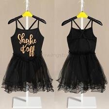 Girl Kid Stage Show Leotard Ballet Tutu Costume Dance Skirt Dress Age 2-11Y A57