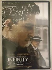 The Man Who Knew Infinity (DVD, 2016, Canadian)